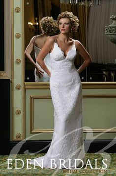 Saison Blanche Couture #1884 Ivory Chantilly Lace Size 12 Bridal Gown Wedding Dress - Sale Price: $1,186.00