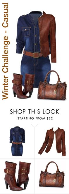 """Winter Challenge - Casual 5 items or less"" by lorrainekeenan ❤ liked on Polyvore featuring Tom Ford and Frye"