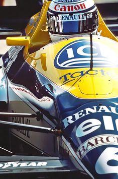 1989. Riccardo Patrese. F1 Williams Renault FW12
