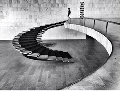 Snake Ranch — arqvac: Stairs by Oscar Niemeyer