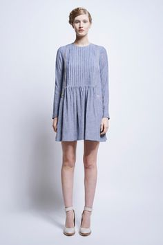 Vika Pintucked Dress