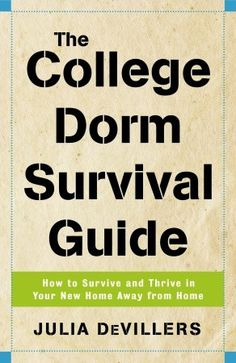 The College Dorm Survival Guide Book |Graduation Gift, Gift for Graduate, Gift for College Student| Catching Fireflies