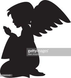 silueta de angel - Buscar con Google