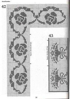 crochet book - 101 Filet Crochet Charts - Raissa Tavares - Álbumes web de Picasa