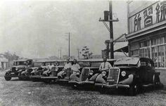 """戦前の自動車教習所「東京練習所」 1936~7年頃(昭和10年代初期)The driving school """"Tokyo Rensyu-jo"""" (1936~37?)"""