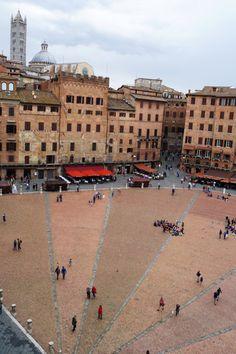 Piazza del Campo #Siena #tuscany #Toskana #italy #italien