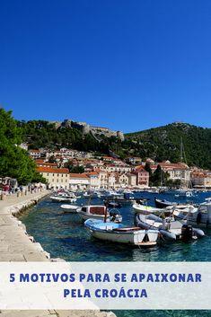 A Croácia é um país lindo, com belíssimas praias e uma rica culinária. Se apaixone pela Croácia. Conheça 5 motivos para se apaixonar pela Croácia #croacia Resorts, Eurotrip, 20 Years, Places To Go, Dolores Park, Around The Worlds, Travel, Madrid, Blog