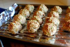 'Sneaky Meatballs' - healthier recipe that contains zucchini as well as meat