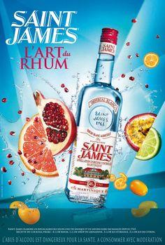 [Martinique] - Publicité Rhum Saint-James