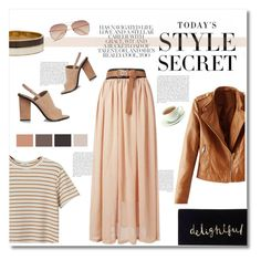 """""""style secret"""" by limass ❤ liked on Polyvore featuring Chicnova Fashion, WithChic, Kate Spade, H&M and Alexander Wang"""