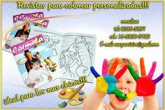 Revistas para Colorear Personalizadas: Entretene a los más chicos con esta solución Gráfica que te ofrecemos!!  Tel: 63805857  Cel.: 15-3575-7215  Email: vazquezvision@gmail.com Visitanos: VAZQUEZVISION