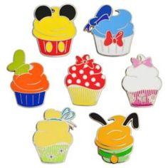 Cupcake Disney Pins!