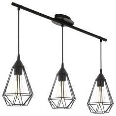 Lámpara techo 3 Tarbes EGLO barata | Bombilla Mundo