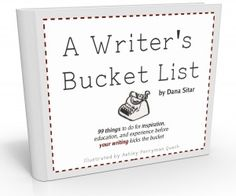 5 Things that Should Be on Writer's Bucket List .... what's on yours?     http://www.writersdigest.com/online-editor/5-things-that-should-be-on-every-writers-bucket-list?et_mid=601744=234704710
