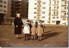 Nonna Franca e tutti i suoi nipotini