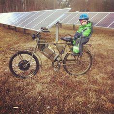 Solarpowered ebike