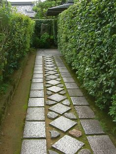 - Awesome Garden Pathway Design Ideas covering concrete walkway with pavers Path Design, Landscape Design, Garden Design, Design Ideas, Landscape Bricks, Outdoor Walkway, Concrete Walkway, Front Walkway, Garden Cottage