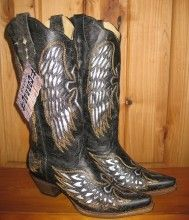 A little bit Country & a little bit Rock 'n' Roll - all wrapped up in one pair of cowgirl boots! Yahoo!