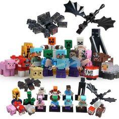 Minifigurine tip Lego Minecraft Creeper, Steve, Spider, Ender, Drago Bucuresti - imagine 1