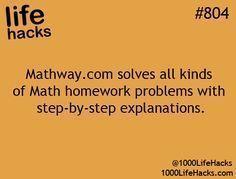 1000 Life Hacks For me when the kids homework gets too hard for me to help them #cruisehacks #LifeHack #LifeHacks