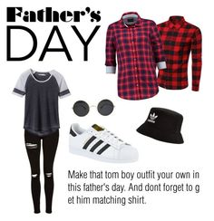 """""""tom boy street style"""" by alaysecab on Polyvore featuring Topshop, prAna, McGregor, adidas, adidas Originals, outfit, tomboy and fathersday"""