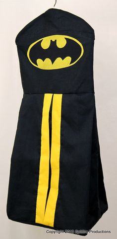 Batman Diaper Stack by CreativityAmongChaos on Etsy, $20.00
