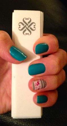 Using a buffer to apply Jamberry Nail art | Nail Art for beginners