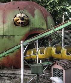 Abandoned creature/ride