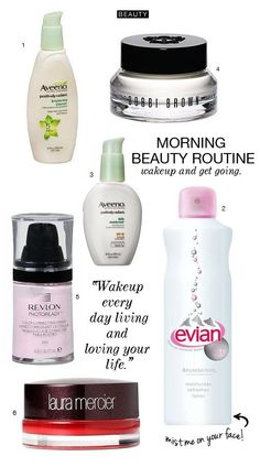 You know how you're always pressing snooze? Snooze some more. This morning beauty routine is SO FAST and simple!