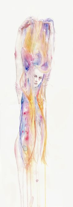 I'll stay here for a while by agnes-cecile.deviantart.com
