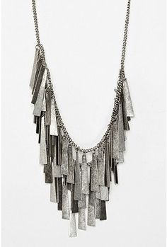 Layered Metal Necklace - StyleSays
