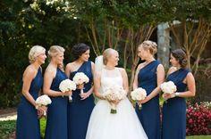 Подружки невесты в цвете Snorkel Blue