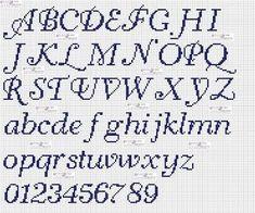 Buy 2 get 1 free Alphabet Cross Stitch Pattern PDF modern pattern personalized embroidery chart pattern baby gift easy embroidery letters Cross Stitch Letter Patterns, Cross Stitch Letters, Cross Stitch Heart, Beaded Cross Stitch, Cross Stitch Borders, Simple Cross Stitch, Cross Stitch Designs, Cross Stitching, Cross Stitch Embroidery