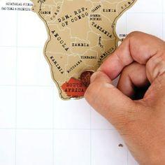 Scratch Map - persoonlijke wereldkaart - Woonkamer - Wonen & Leven - Bestel nu bij Ditverzinjeniet.nl