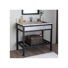 Buy the Native Trails Carrara Direct. Shop for the Native Trails Carrara Cuzco Steel Vanity Cabinet Only and save. Bathroom Vanities Without Tops, Bathroom Vanity Base, Bath Vanities, Bathroom Storage, Bathroom Ideas, Industrial Bathroom Vanity, Small Bathroom, Vanity Cabinet, Industrial Furniture