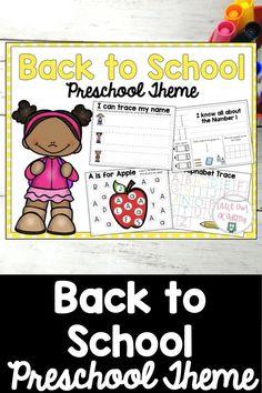 Preschool Friendship Activities, Preschool Songs, Preschool Lesson Plans, Preschool Curriculum, Kindergarten, Homeschool, Preschool First Week, September Preschool Themes, First Week Of School Ideas