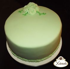 Cake Verde água