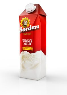Borden Milk Advertisements on Behance