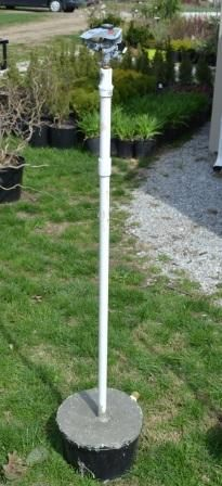How to Make Your Own Sprinklers on Stand Pipes.