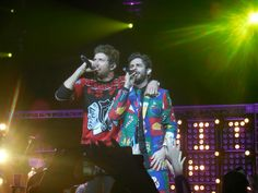 CMT on Tour Suits and Boots: Brett Eldredge and Thomas Rhett