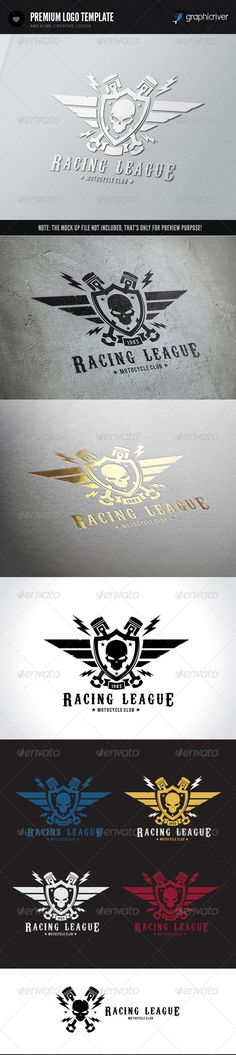 Racing League — Vector EPS #fly #league • Available here → https://graphicriver.net/item/racing-league/6481380?ref=pxcr