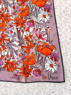 vintage vera scarf