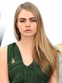 Image result for thin long straight hair