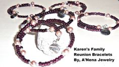Karen's Family Reunion 5 Bracelets For 40 USD  by ANenaJewelry, $40.00