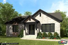 Check out here Home Building Tips Cottage House Plans, Cottage Homes, Home Building Tips, Building A House, Home Renovation, Home Remodeling, Bungalow, Prefabricated Houses, Country Style Homes