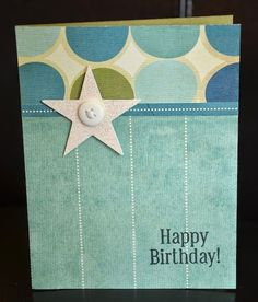 Happy Birthday! card by Darla Weber #WRMK