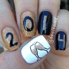 new year by banicured_  #nail #nails #nailart