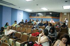 Sesión de preguntas, académica Irma Fuentes, Auditorio de la DGTIC, Seminario: Visiones sobre la Mediación Tecnológica en Educación, 23 de septiembre de 2013.