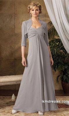 http://www.ikmdresses.com/2012-Collection-Silver-Floor-Length-Sweetheart-A-Line-Chiffon-p84728