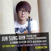 #juncurryahn #violinist #kcon2013 #kcon #mnetamerica #kpop